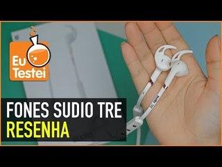 Sudio TRE, fones bluetooth voltados para esporte - Resenha EuTestei