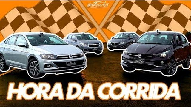 HORA DA DRAG RACE! CRONOS, VIRTUS, COBALT E CITY SE ENFRENTAM NA CORRIDINHA - ESPECIAL #184