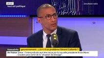 """Karim Bouamrane (PS) : """"Gérard Collomb n'a jamais endossé le costume de ministre de l'Intérieur"""""""