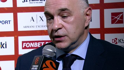 Post-game Interview: Coach Laso, Real Madrid
