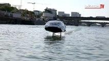 Paris : on a testé le « taxi volant » sur la Seine