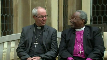 Justin Welby and Michael Curry excited for royal wedding