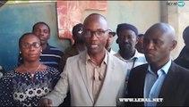 """Le mouvement """"Tout va Mal"""" a rencontré la presse le jeudi 17 mai à Sandaga, pour dénoncer la situation dans les universités sénégalaises. A cette occasion Blais"""