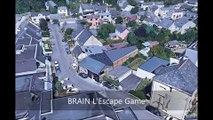 Rennes (France) : Itinéraire de visite touristique et culturelle par vue aérienne de la ville en 3D
