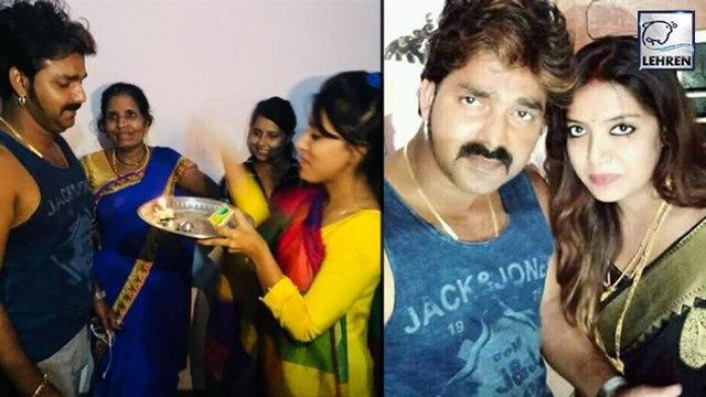 पवन सिंह ने ली पत्नी ज्योति सिंह के साथ सेल्फी   Pawan Singh   Jyoti Singh