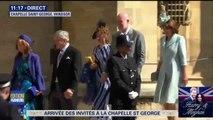 La famille de Kate Middleton avec sa soeur Pipa arrive à la chapelle Saint-Georges #RoyalWedding