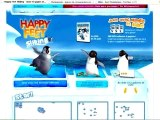 Exporter un jeu flash sur son blog : l'exemple Happy-Feet