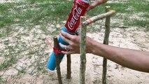 Simple Bird Trap using 330ml COCA COLA and Pipe - How to Make DIY Bird Trap using COCA COLA and Pipe