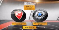 EB ANGT Finals Highlights: U18 Crvena Zvezda mts Belgrade - U18 Stellazzurra Rome
