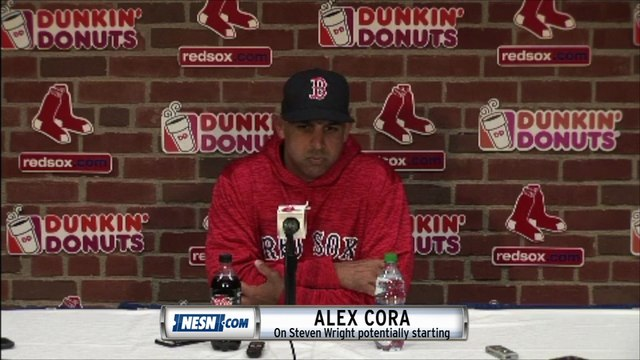 Alex Cora addresses the Red Sox 7-4 loss to the Orioles