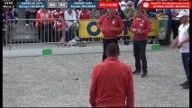 Championnats Régionaux Rhône-Alpes 2018 : Triplette Demi-finale Ardèche VS Rhône