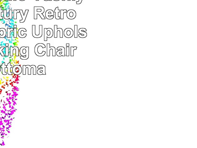 Surprising Baxton Studio Yashiya Mid Century Retro Modern Fabric Upholstered Rocking Chair And Bralicious Painted Fabric Chair Ideas Braliciousco