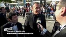 Matteo Garrone et Marcello sur le tapis rouge - Cannes 2018