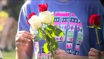 Vigil Held for Shooting Victims at Santa Fe High School