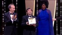 Le prix d'interprétation masculine est attribué à Marcello Fonte dans Dogman - Cannes 2018