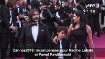 Cannes2018: récompenses pour Nadine Labaki et Pawel Pawlikowski