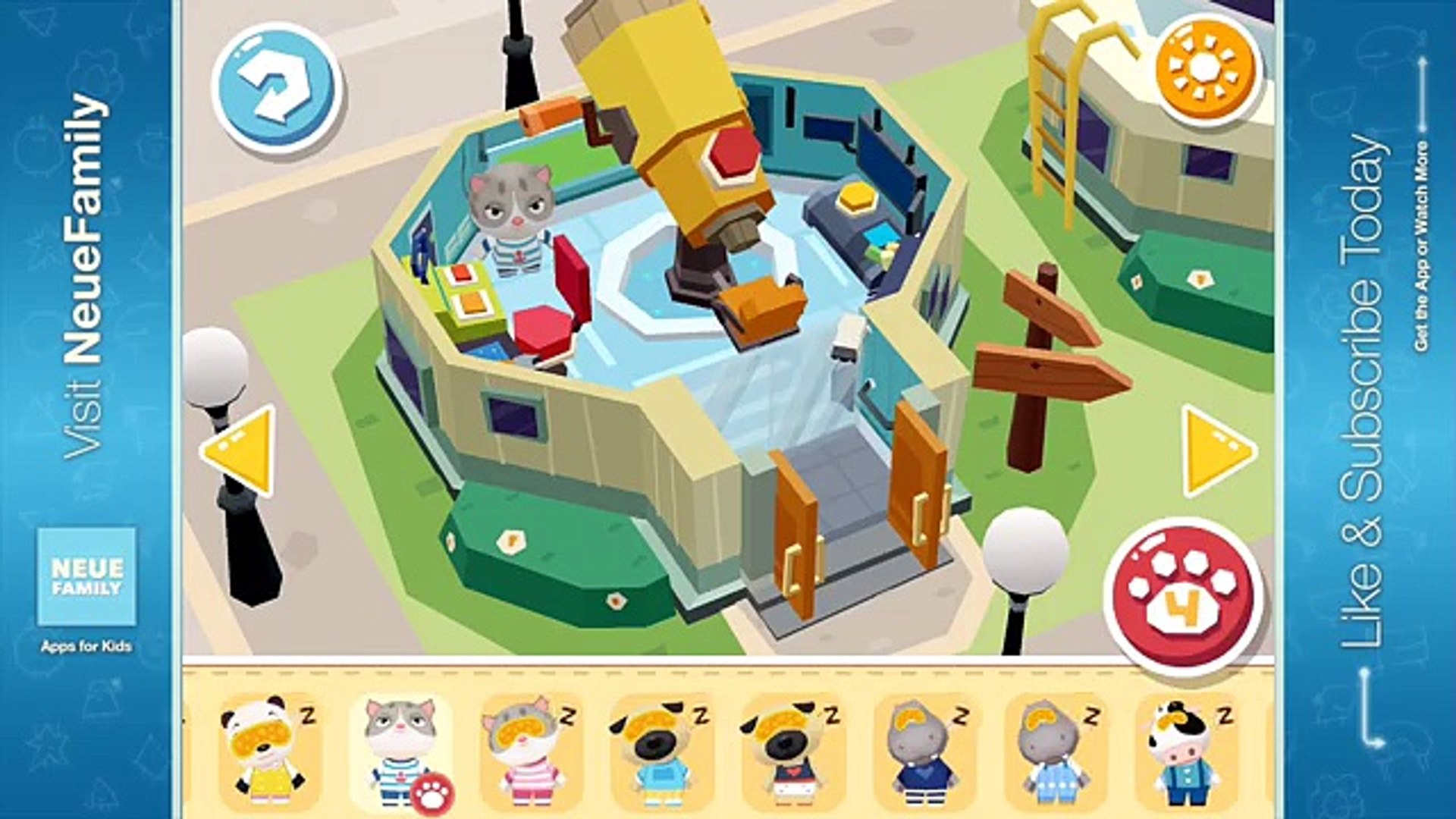 Hoopa City 2: Activity App for Kids