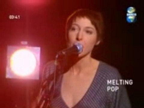 Jeanne Cherhal - L'eau live - Melting Pop - Direct 8