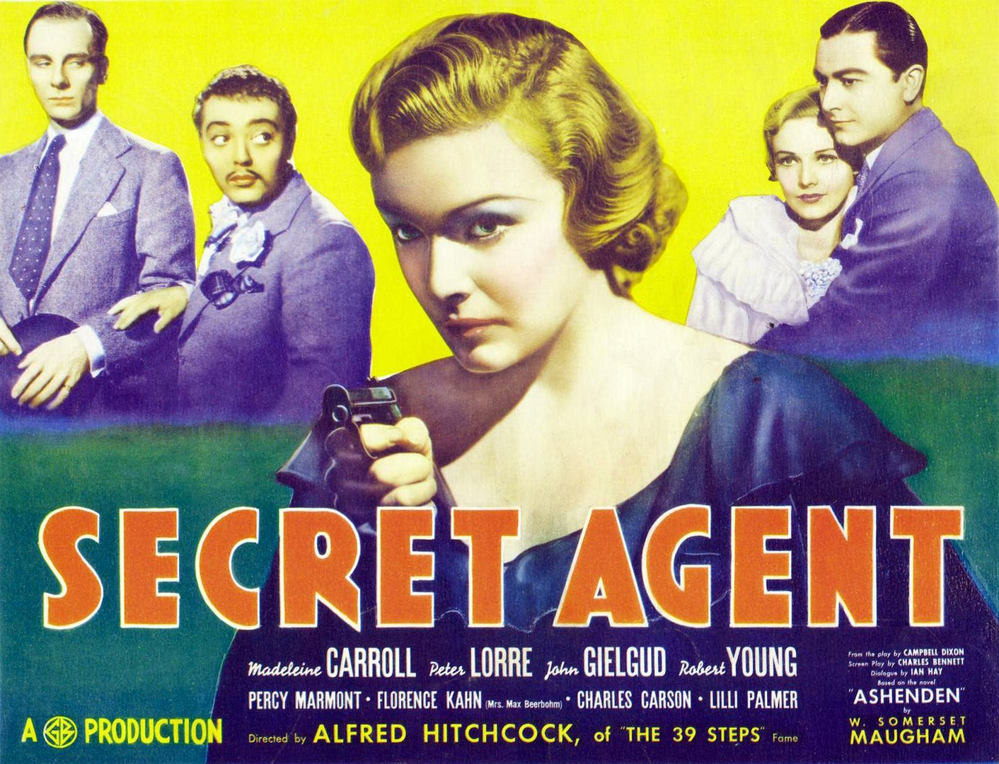 Alfred Hitchcock's Secre Agent (1936) - video dailymotion