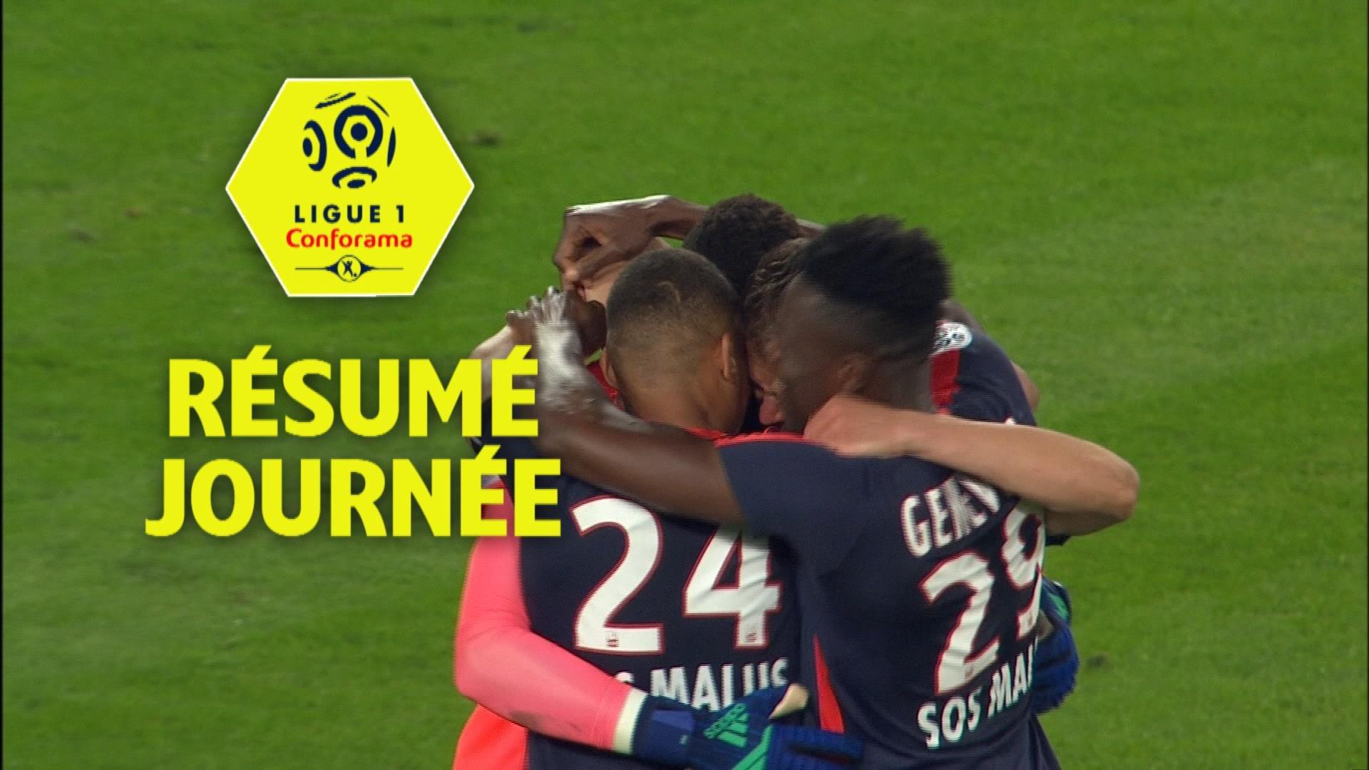 Résumé de la 38ème journée - Ligue 1 Conforama / 2017-18
