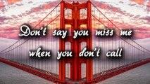 Don't Say You Love Me - Fifth Harmony (Lyrics) - video