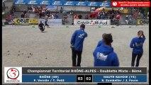 Championnats Régionaux Rhône-Alpes 2018 : Huitième mixte Rhône VS Haute-Savoie