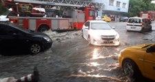 Ankara'da Aşırı Yağış ve Dolu Nedeniyle Sel ve Su Baskınları Meydana Geldi