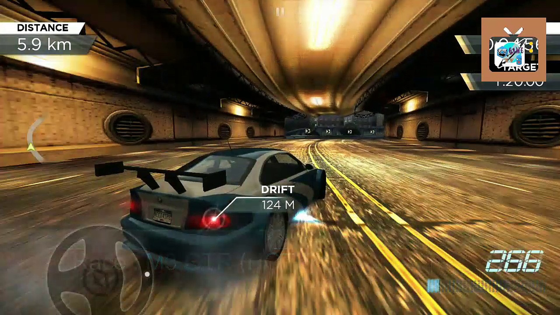 Nfs Most Wanted Bmw M3 Gtr Hot Ride Video Dailymotion