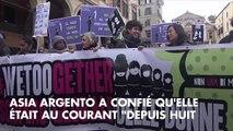 Accusations de viol contre Luc Besson : Asia Argento était au courant depuis huit mois