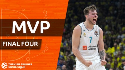 2017-18 Final Four MVP: Luka Doncic, Real Madrid