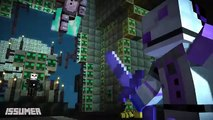 FUNTIME FREDDY vs ENNARD! FNAF Sister Location Theme Minecraft Story Mode