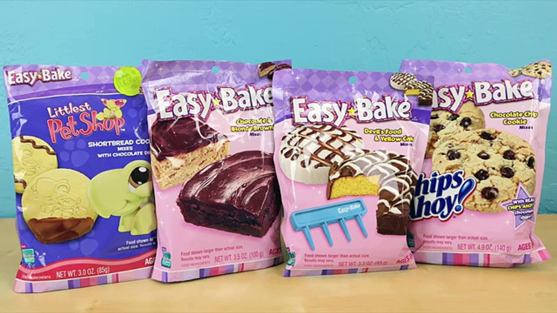 Easy Bake Oven 2006 - Which Baking Mix Did I Make? With Taste Test!