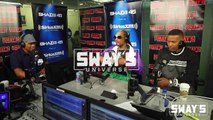 """Snoop Dogg & Jamie Foxx """"For the Love of You"""" Freestyle @ Shade 45 """"Sway In The Morning"""", 05-16-2018"""