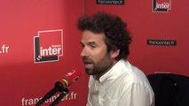 """Cyril Dion :  """"Un Français, hors temps de travail, passe 8h par jour devant des écrans. C'est du temps pour ne pas faire des choix, ne pas s'engager"""""""