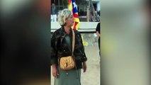 Españolista se encara con separatistas en una playa de Cataluña