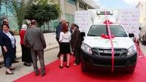 BNA FONDATION- cérémonie de remise d'une camionnette frigorifiée au lauréat du concours BNA Agriculture Awards