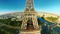 """La réalité virtuelle pour """"voler"""" au-dessus de Paris"""