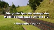 Die große Modelleisenbahn Spur H0 Anlage der Modellbahn-Freunde aus Alsfeld - Ein Video von Pennula für alle Modelleisenbahner und Modellbauer