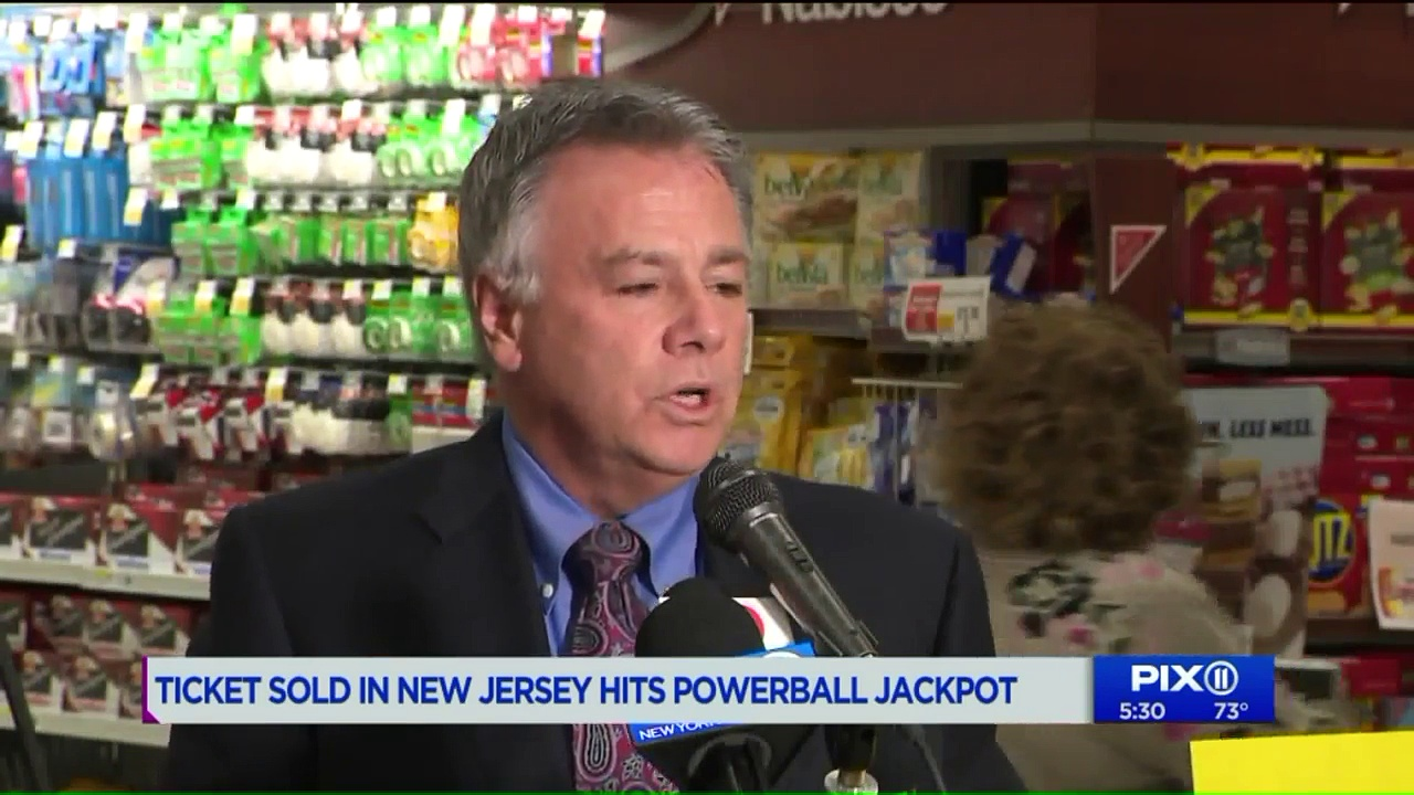 Ticket Sold in New Jersey Hits $315 Million Powerball Jackpot