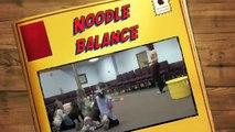 Noodle Balance - preschool fitness games!