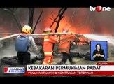 Kebakaran Besar Hanguskan Puluhan Rumah di Cipinang Muara