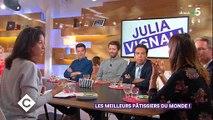 Julia Vignali revient sur ses propos de 2014 où elle assurait ne jamais vouloir animer une émission... de pâtisserie ! Regardez