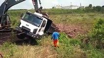 heavy equipment accidents compilation, trucks accidents - big truck accidents part 2/2