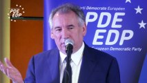 Colloque PDE Europe – Caraïbes  - Clôture par François BAYROU