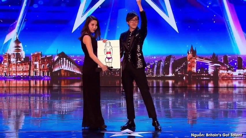 Cả trường quay Got Talent Anh hí hửng tưởng được xem hot girl cởi đồ, nào ngờ... | Godialy.com