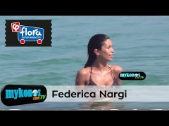 Federica Nargi in Mykonos