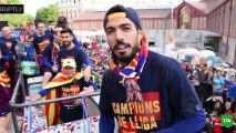 Barcelonalı futbolcu Pique, Ruptly kameramanı olursa...