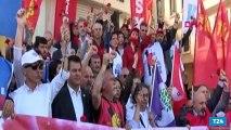 1 Mayıs 1977de hayatını kaybedenler Taksimde anıldı