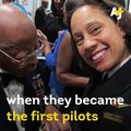 These African-American pilots are the first women to fly an Alaska Airlines plane. ✈️