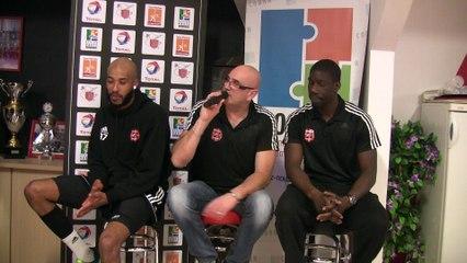 Interview d'après match de Mickael LAPOINTE et d'Ibou DIALLO
